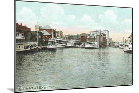 Waterfront, Providence, Rhode Island--Mounted Art Print