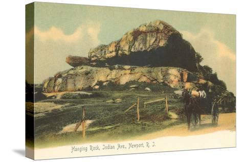 Hanging Rock, Newport, Rhode Island--Stretched Canvas Print