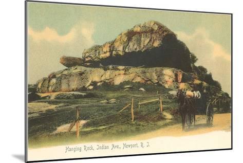 Hanging Rock, Newport, Rhode Island--Mounted Art Print