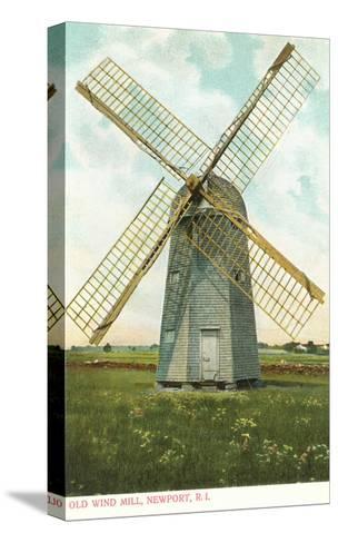 Wind Mill, Newport, Rhode Island--Stretched Canvas Print