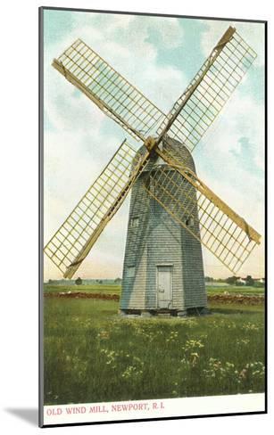 Wind Mill, Newport, Rhode Island--Mounted Art Print