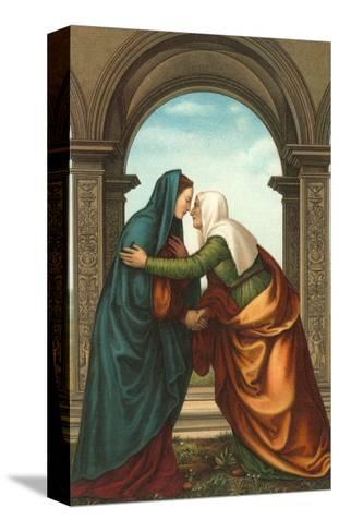 The Visitation by Albertinelli, Florence--Stretched Canvas Print