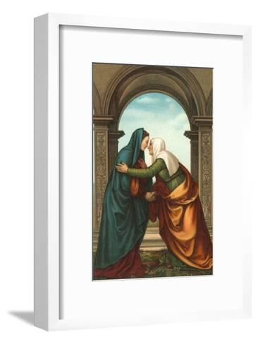 The Visitation by Albertinelli, Florence--Framed Art Print