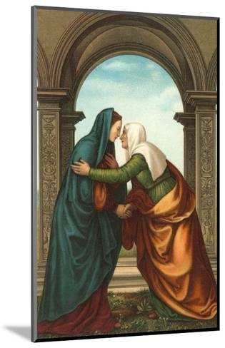 The Visitation by Albertinelli, Florence--Mounted Art Print