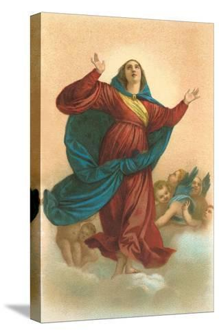 Ascension of the Virgin by Titian, Venice--Stretched Canvas Print