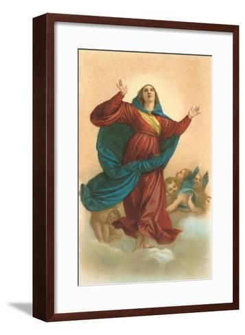 Ascension of the Virgin by Titian, Venice--Framed Art Print