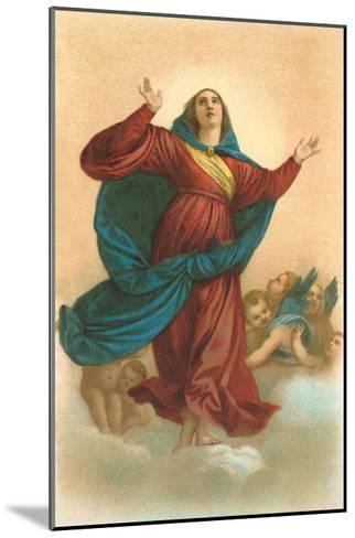 Ascension of the Virgin by Titian, Venice--Mounted Art Print