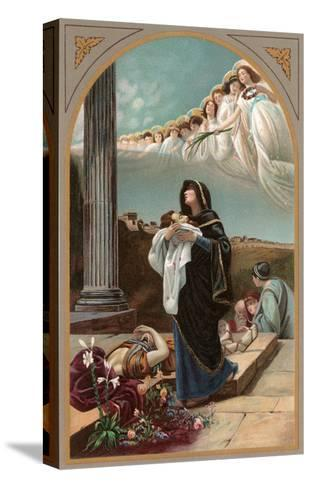 Martyrdom of St. Alexander by Loverini, Rome--Stretched Canvas Print