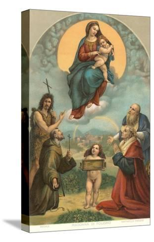 Madonna of the Foligno by Raphael, Rome--Stretched Canvas Print