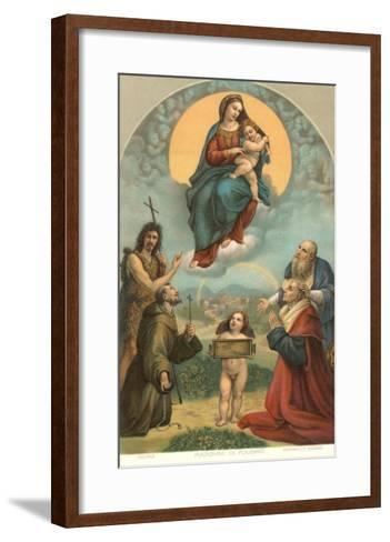 Madonna of the Foligno by Raphael, Rome--Framed Art Print
