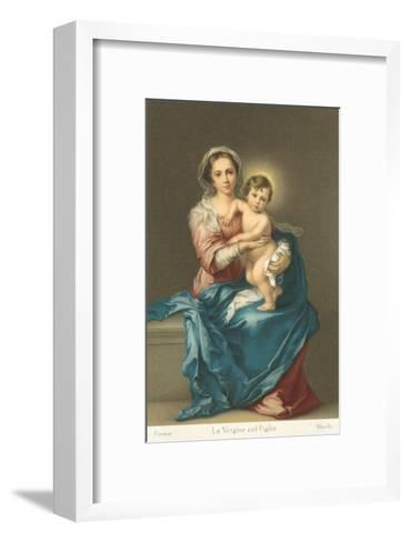 Madonna and Child by Murillo, Florence--Framed Art Print