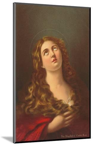 Mary Magdalene by Guino Reni, London--Mounted Art Print