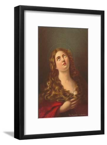 Mary Magdalene by Guino Reni, London--Framed Art Print
