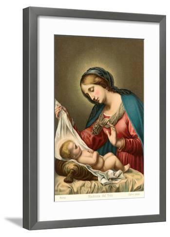 Madonna of the Veil--Framed Art Print