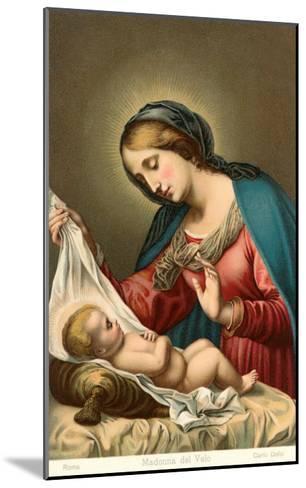 Madonna of the Veil--Mounted Art Print