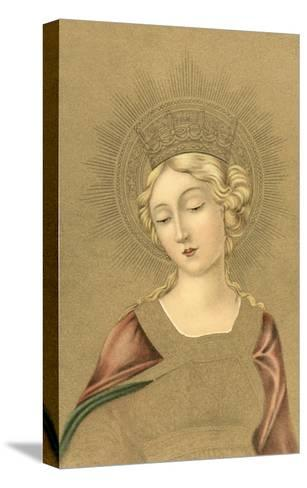 Blonde Madonna--Stretched Canvas Print