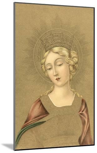 Blonde Madonna--Mounted Art Print