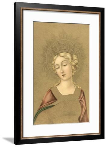 Blonde Madonna--Framed Art Print