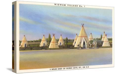 Wigwam Village Number 1, Motel--Stretched Canvas Print