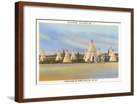 Wigwam Village Number 1, Motel--Framed Art Print