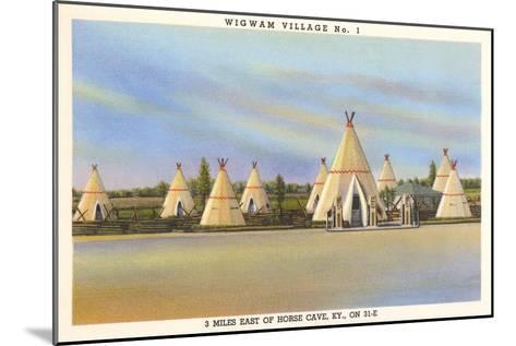 Wigwam Village Number 1, Motel--Mounted Art Print