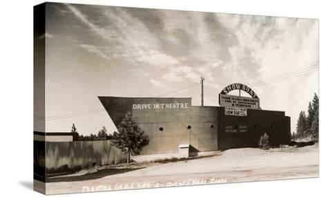 Photo of Showboat Drive-In Theater--Stretched Canvas Print