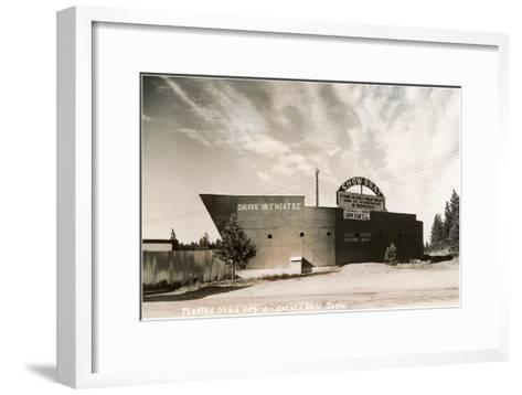 Photo of Showboat Drive-In Theater--Framed Art Print