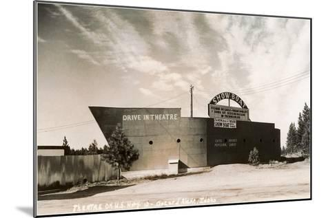 Photo of Showboat Drive-In Theater--Mounted Art Print