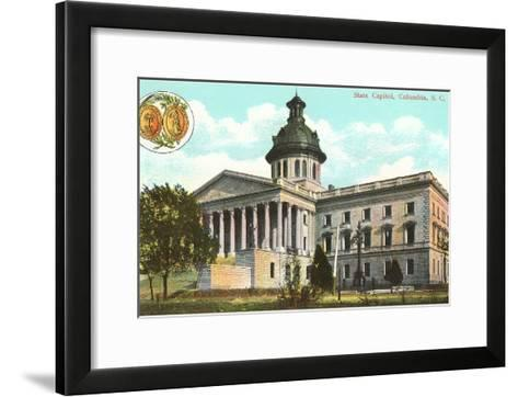 State Capitol, Columbia, South Carolina--Framed Art Print