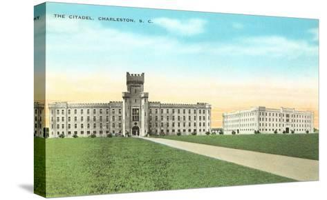 The Citadel, Charleston, South Carolina--Stretched Canvas Print