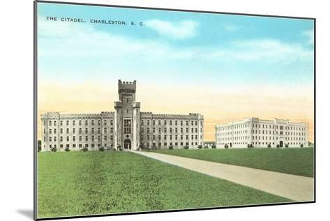 The Citadel, Charleston, South Carolina--Mounted Art Print