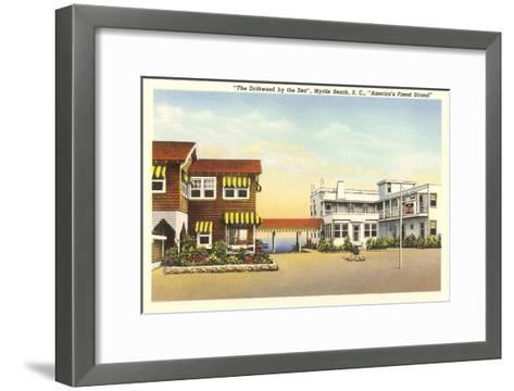 Driftwood by the Sea Hotel, Myrtle Beach, South Carolina--Framed Art Print