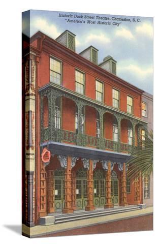 Dock Street Theatre, Charleston, South Carolina--Stretched Canvas Print