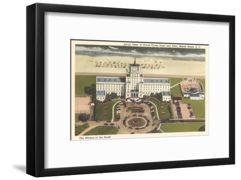 Ocean Forest Hotel, Myrtle Beach, South Carolina--Framed Art Print