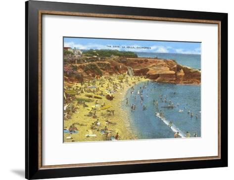 La Jolla Cove, California--Framed Art Print