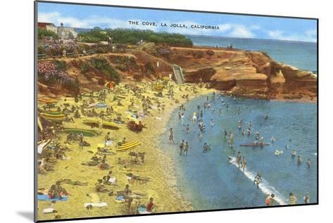 La Jolla Cove, California--Mounted Art Print