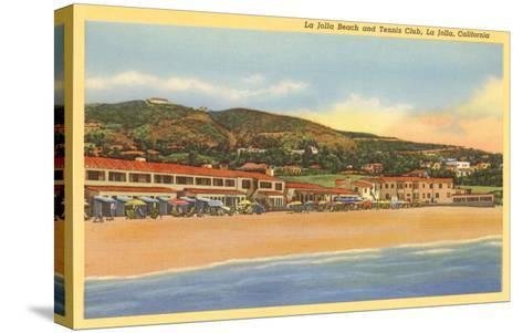 La Jolla Beach and Tennis Club, La Jolla, California--Stretched Canvas Print