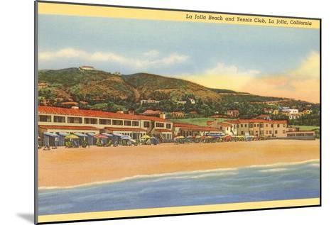 La Jolla Beach and Tennis Club, La Jolla, California--Mounted Art Print