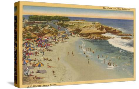 La Jolla Cove, California--Stretched Canvas Print