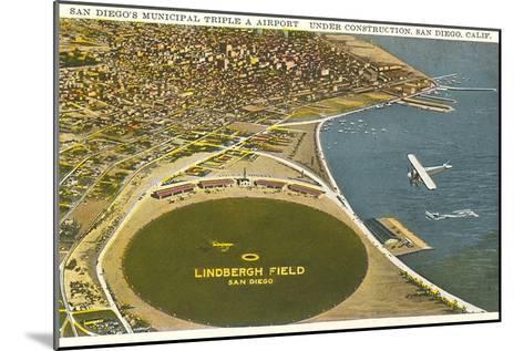 Lindbergh Field Airport, San Diego, California--Mounted Art Print
