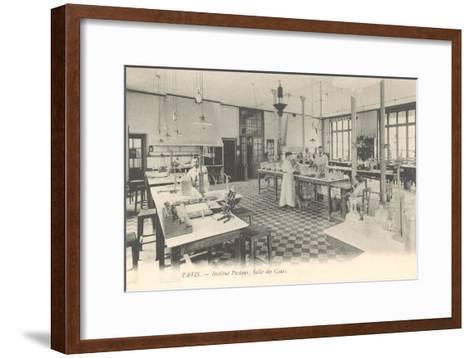Laboratory, Pasteur Institute--Framed Art Print