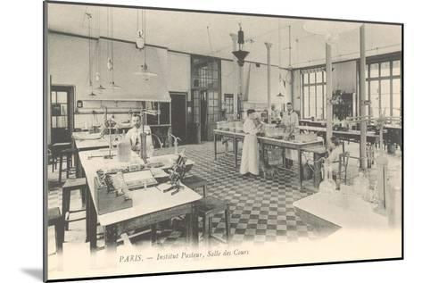 Laboratory, Pasteur Institute--Mounted Art Print