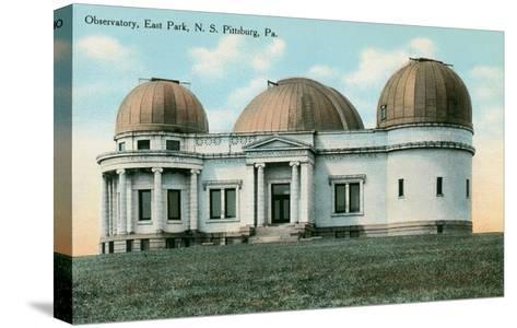 East Park Observatory, Pittsburg, Pennsylvania--Stretched Canvas Print