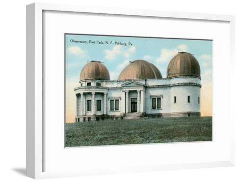 East Park Observatory, Pittsburg, Pennsylvania--Framed Art Print
