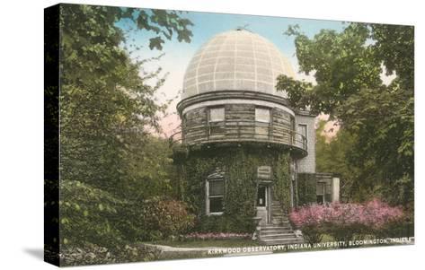 Kirkwood Observatory, Indiana University--Stretched Canvas Print