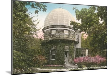 Kirkwood Observatory, Indiana University--Mounted Art Print