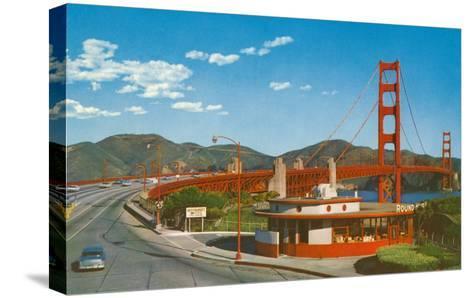 Golden Gate Bridge, San Francisco, California--Stretched Canvas Print