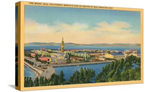 San Francisco World's Fair, Magic Isle--Stretched Canvas Print