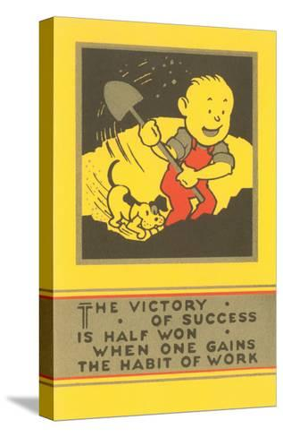 The Victory of Success, Work--Stretched Canvas Print