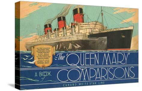Queen Mary Book of Comparisons--Stretched Canvas Print
